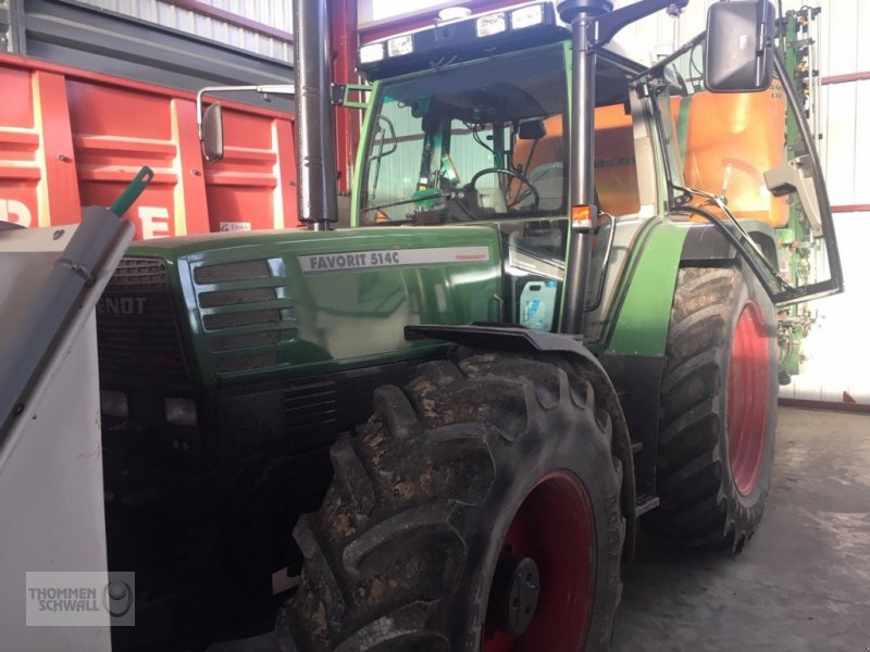 Traktor des Typs Fendt 514 C, Gebrauchtmaschine in Crombach/St.Vith (Bild 1)