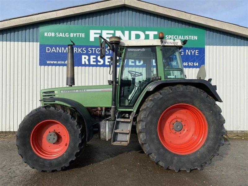 Traktor des Typs Fendt 514 Favorit Med luftbremser, Gebrauchtmaschine in Rødekro (Bild 1)