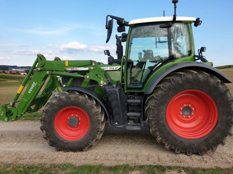 Traktor des Typs Fendt 514 Vario S4 Power Plus, Gebrauchtmaschine in Eggenfelden (Bild 1)