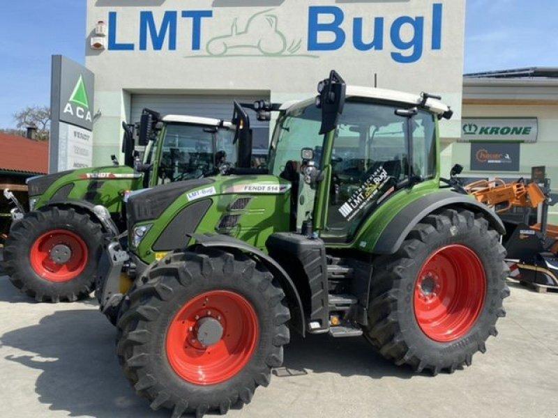 Traktor des Typs Fendt 514 Vario S4 Profi-Plus mit RTK, Gebrauchtmaschine in Hürm (Bild 1)