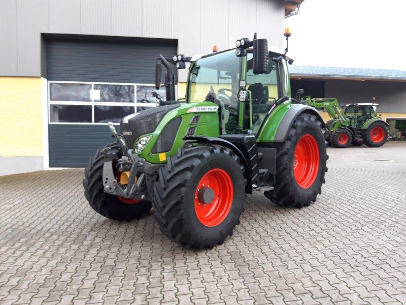 Traktor des Typs Fendt 514 Vario S4 Profi Plus, Gebrauchtmaschine in Tirschenreuth (Bild 1)