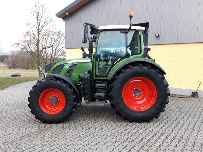 Traktor des Typs Fendt 514 Vario S4 Profi Plus, Gebrauchtmaschine in Tirschenreuth (Bild 2)