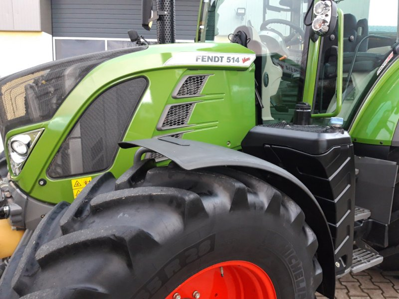 Traktor des Typs Fendt 514 Vario S4 Profi Plus, Gebrauchtmaschine in Tirschenreuth (Bild 8)
