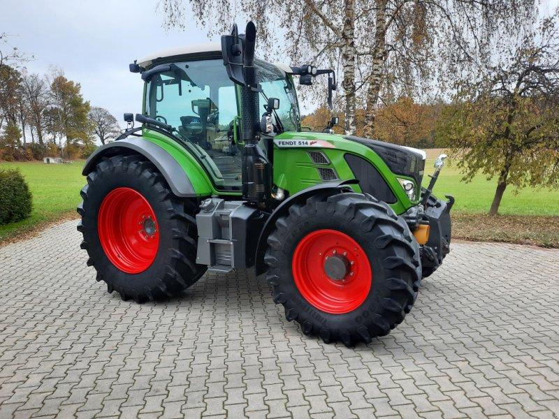 Traktor типа Fendt 514 Vario S4 Profi, Gebrauchtmaschine в Tirschenreuth (Фотография 1)