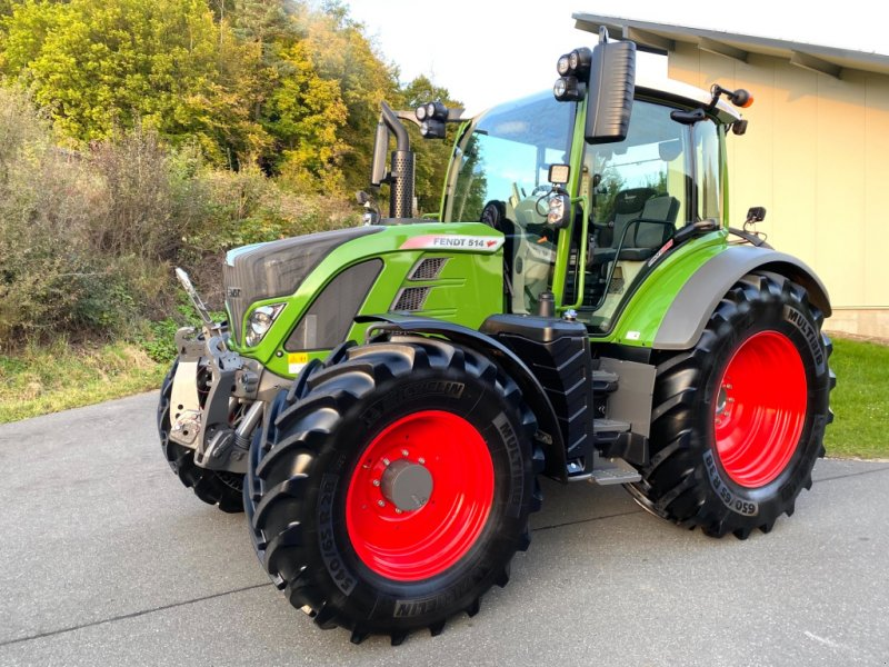 Traktor типа Fendt 514 Vario S4 Profiplus Profi+ (516), Gebrauchtmaschine в Weigendorf (Фотография 1)
