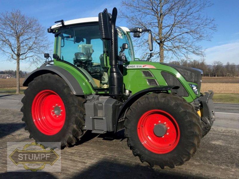 Traktor of the type Fendt 514 Vario, Neumaschine in Grafenstein (Picture 1)