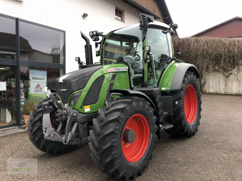Traktor des Typs Fendt 514 Vario, Vorführmaschine in Bad Leonfelden (Bild 1)