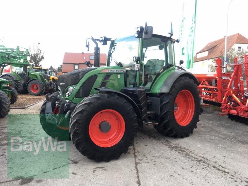 Traktor des Typs Fendt 516 Profi SCR *** NEUER TRIEBSATZ***, Gebrauchtmaschine in Dinkelsbühl (Bild 1)