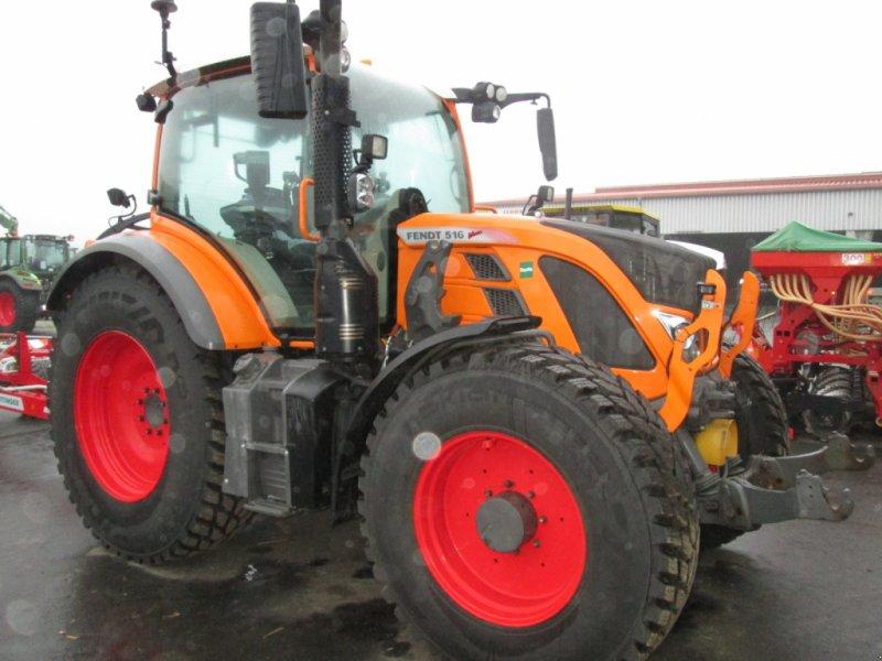 Traktor des Typs Fendt 516 S4 Profi, Gebrauchtmaschine in Wülfershausen an der Saale (Bild 1)