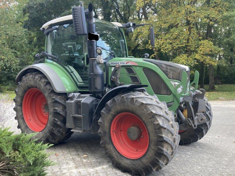Traktor des Typs Fendt 516 SCR Profi Plus, Gebrauchtmaschine in Giebelstadt (Bild 1)