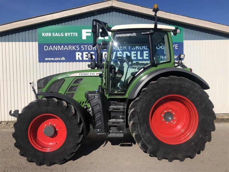 Traktor типа Fendt 516 Vario S4 Power Plus, Gebrauchtmaschine в Rødekro (Фотография 1)