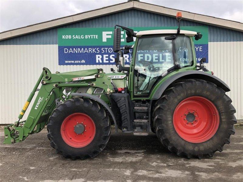 Traktor типа Fendt 516 Vario S4 Profi med F-PTO + Fendt 4X80 Frontlæsser, Gebrauchtmaschine в Rødekro (Фотография 1)