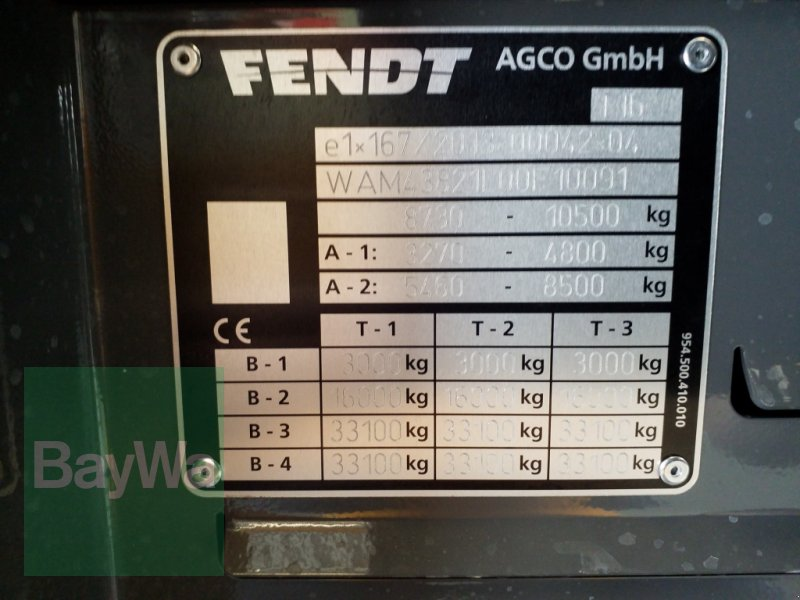 Traktor des Typs Fendt 516 Vario S4 Profi Plus*Miete ab 204€/Tag*, Gebrauchtmaschine in Bamberg (Bild 20)