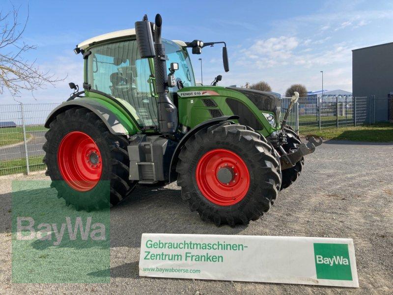 Traktor des Typs Fendt 516 Vario S4 Profi Plus, Gebrauchtmaschine in Giebelstadt (Bild 1)