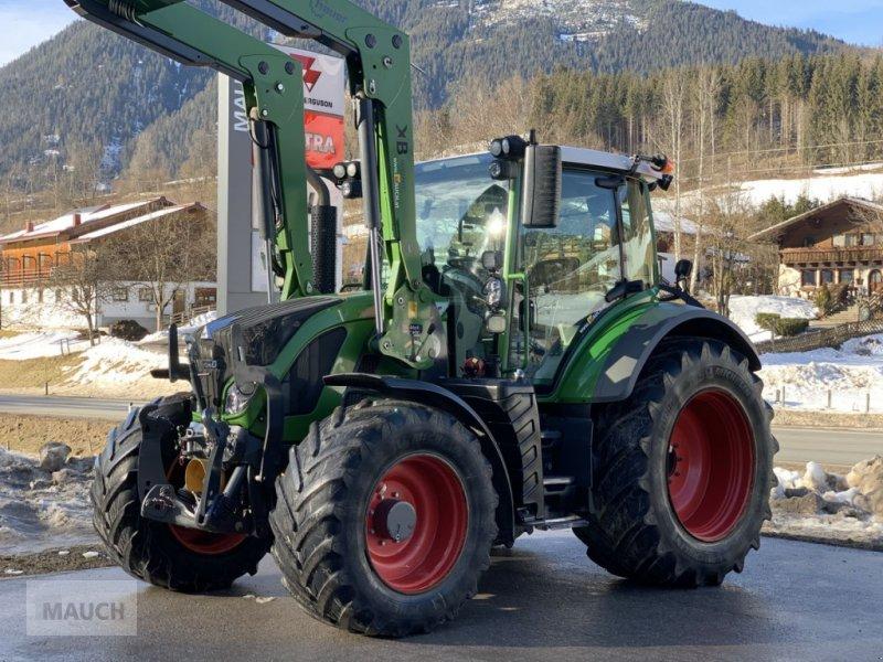 Traktor des Typs Fendt 516 Vario SCR + Hauer FL, Stufe 3B, Gebrauchtmaschine in Eben (Bild 1)