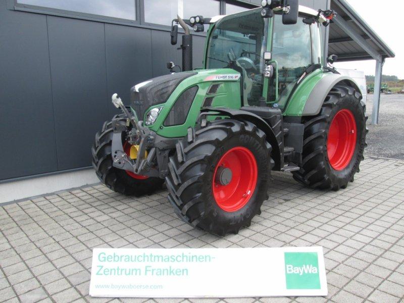 Traktor типа Fendt 516 Vario SCR Profi Plus RTK, Gebrauchtmaschine в Wülfershausen an der Saale (Фотография 1)