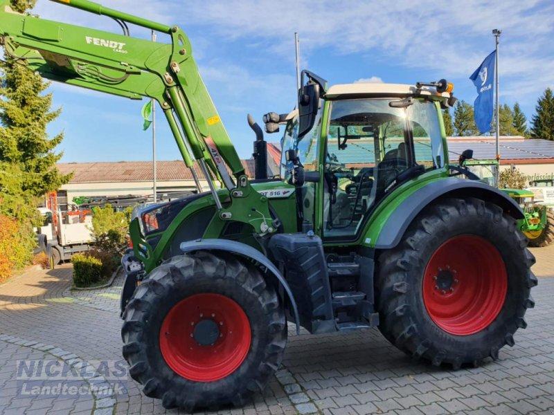 Traktor типа Fendt 516 Vario, Gebrauchtmaschine в Schirradorf (Фотография 1)