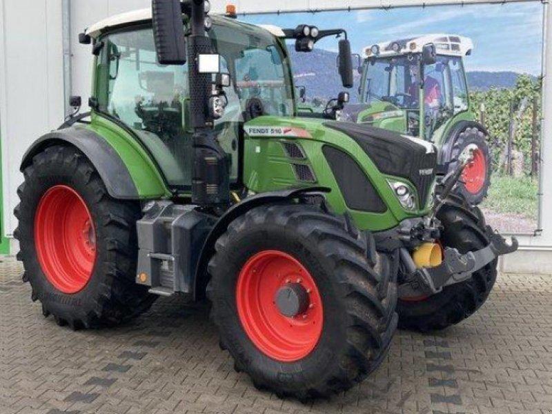 Traktor des Typs Fendt 516, Vorführmaschine in Gundersheim (Bild 1)