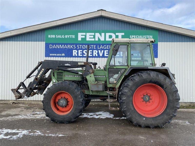 Traktor des Typs Fendt 612 LSA Favorit med Stoll Frontlæsser, Gebrauchtmaschine in Rødekro (Bild 1)