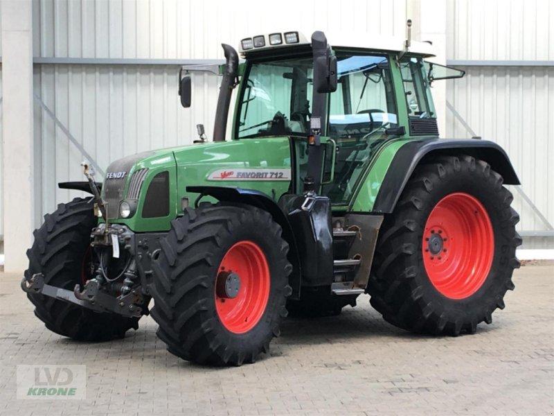 Traktor des Typs Fendt 712, Gebrauchtmaschine in Spelle (Bild 1)