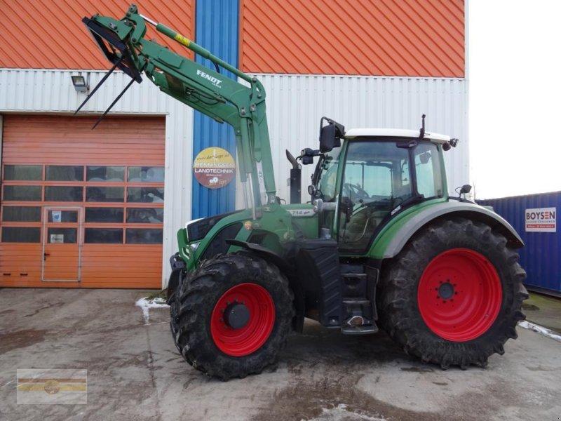 Traktor des Typs Fendt 714 Profi SCR, Gebrauchtmaschine in Böklund (Bild 1)