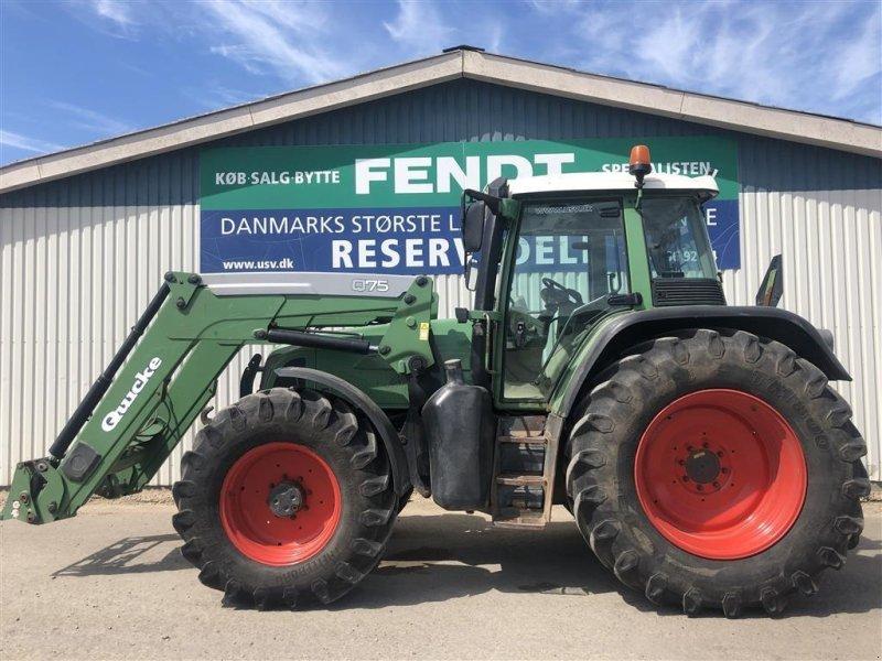 Traktor des Typs Fendt 714 Vario med læsser Quicke Q75, Gebrauchtmaschine in Rødekro (Bild 1)