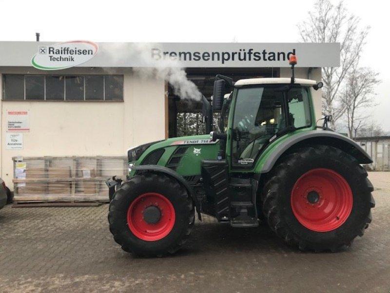 Traktor des Typs Fendt 714 Vario SCR, Gebrauchtmaschine in Bebra (Bild 1)
