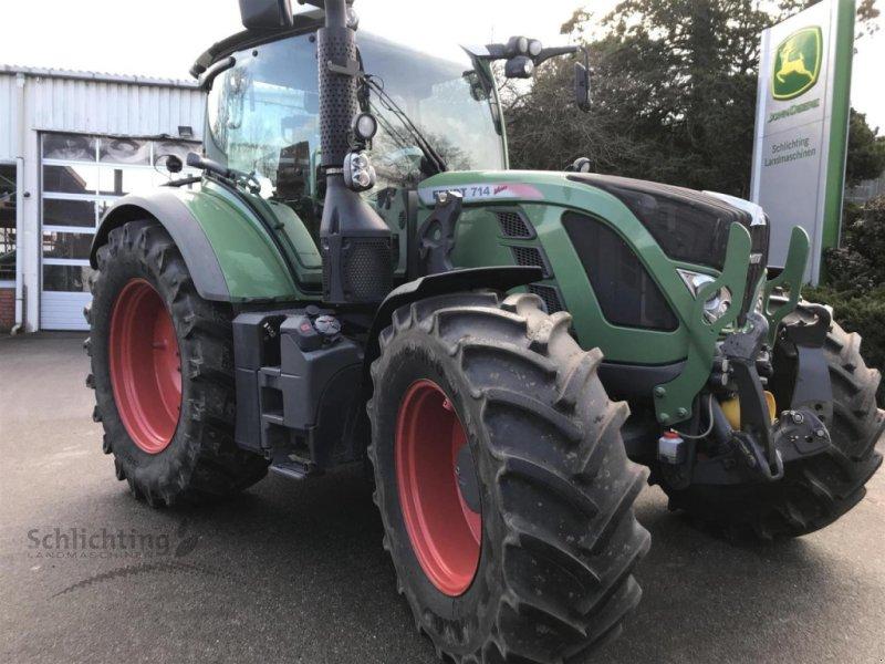 Traktor des Typs Fendt 714 Vario TMS-Profi, Gebrauchtmaschine in Marxen (Bild 1)