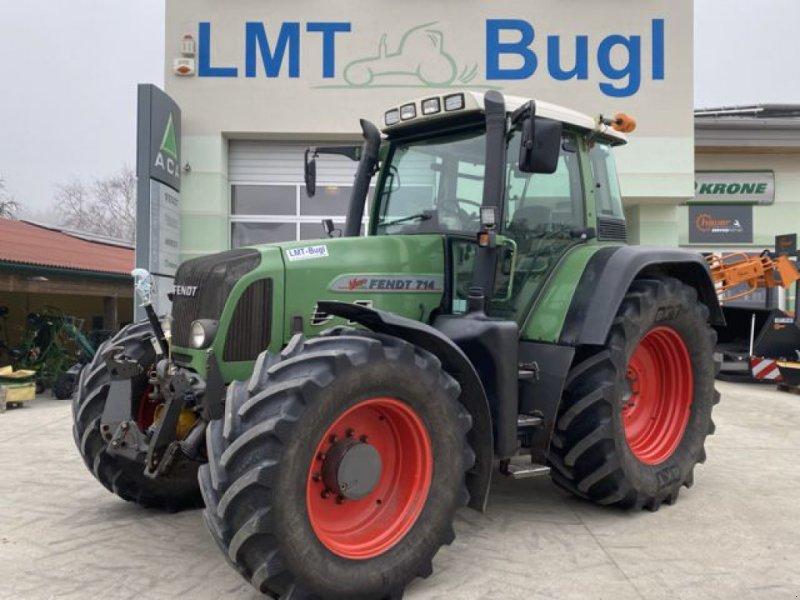 Traktor des Typs Fendt 714 Vario TMS, Gebrauchtmaschine in Hürm (Bild 1)