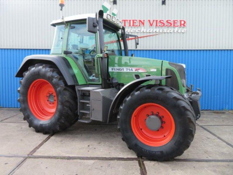 Traktor des Typs Fendt 714 Vario TMS, Gebrauchtmaschine in Joure (Bild 1)