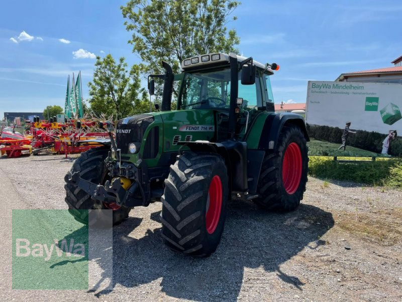 Traktor des Typs Fendt 714 VARIO TMS, Gebrauchtmaschine in Mindelheim (Bild 1)