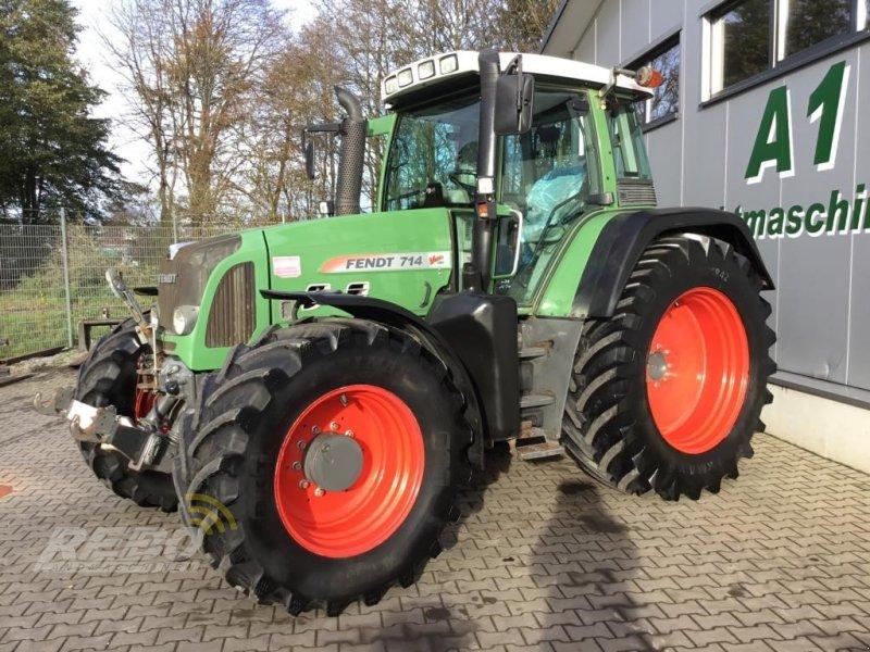 Traktor des Typs Fendt 714 VARIO TMS, Gebrauchtmaschine in Neuenkirchen-Vörden (Bild 1)