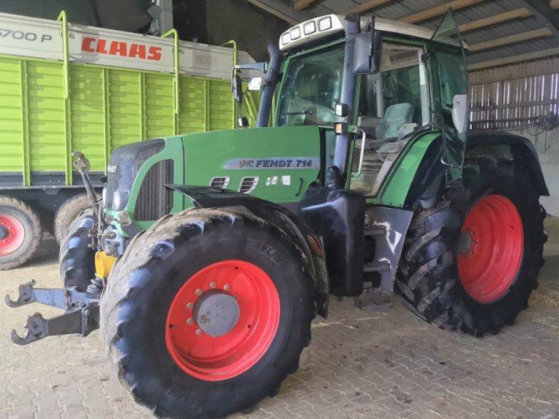 Traktor des Typs Fendt 714 Vario TMS, Gebrauchtmaschine in Herzogenaurach (Bild 1)