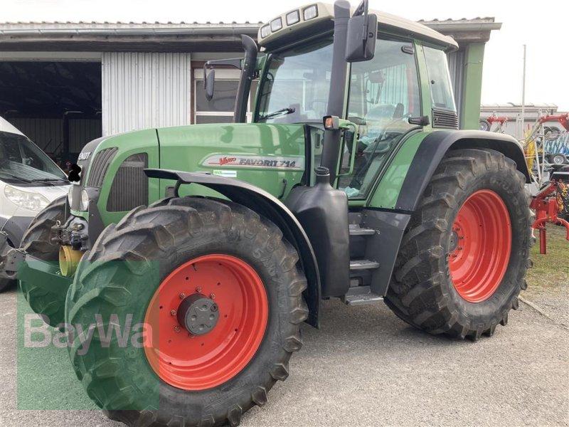 Traktor des Typs Fendt 714 Vario, Gebrauchtmaschine in Kisslegg (Bild 1)