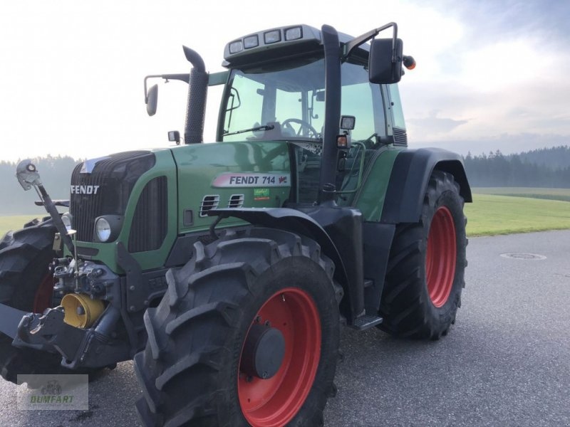 Traktor des Typs Fendt 714 Vario, Gebrauchtmaschine in Bad Leonfelden (Bild 1)