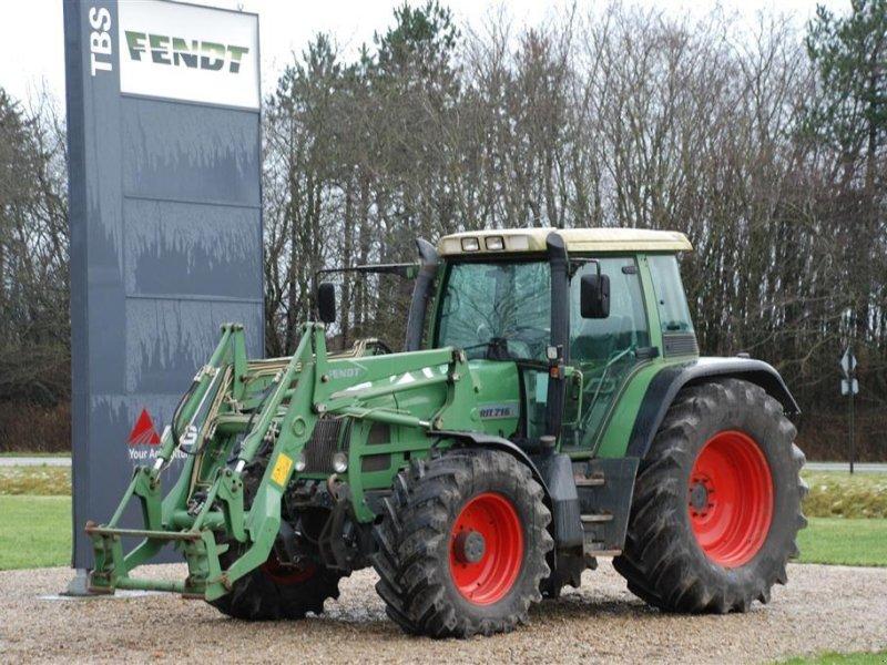 Traktor of the type Fendt 716 Med Fendt Front-læsser, Gebrauchtmaschine in Grindsted (Picture 1)