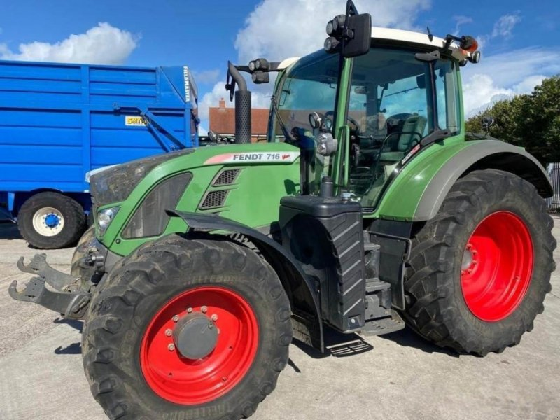 Traktor des Typs Fendt 716 profi plus, Gebrauchtmaschine in  (Bild 1)