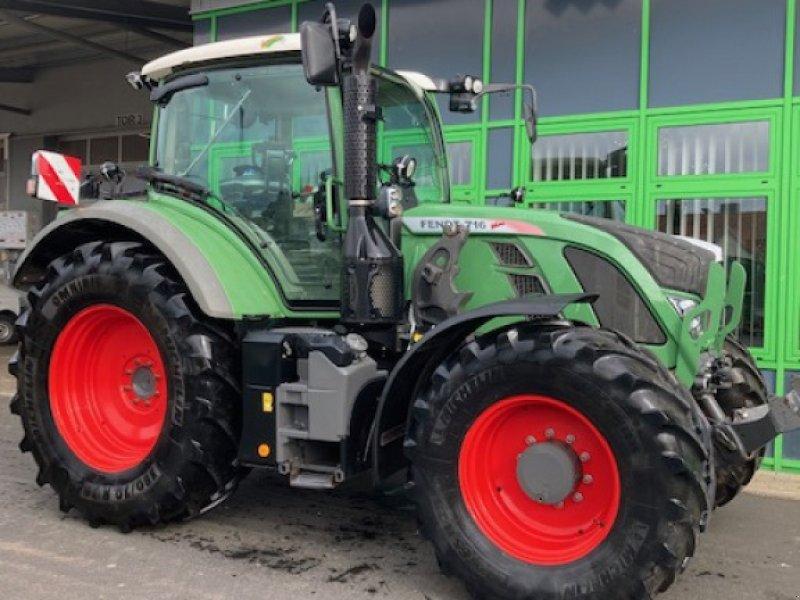 Traktor des Typs Fendt 716 Vario Power, Gebrauchtmaschine in Homberg/Efze (Bild 4)