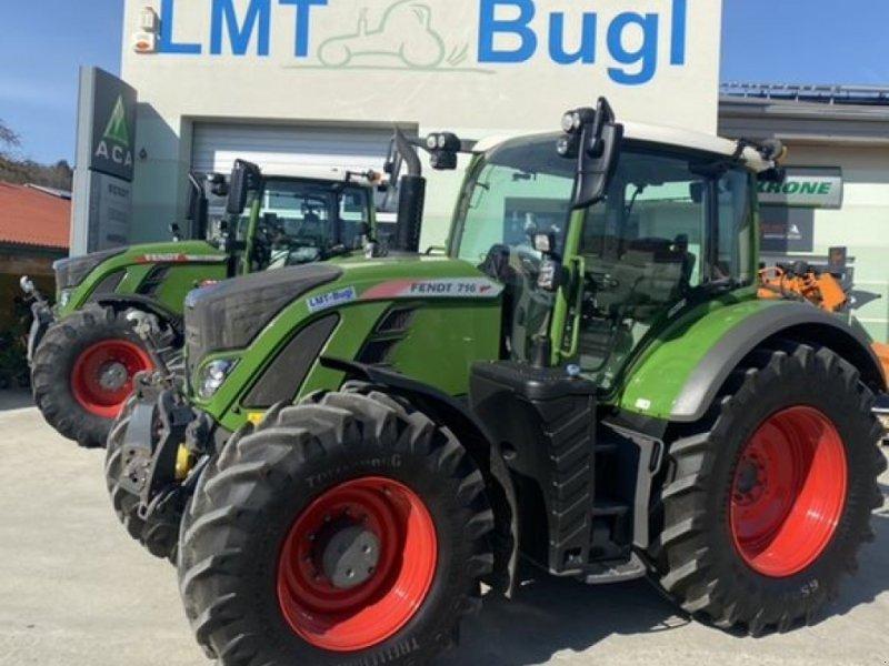 Traktor des Typs Fendt 716 Vario S4 Profi, Gebrauchtmaschine in Hürm (Bild 1)