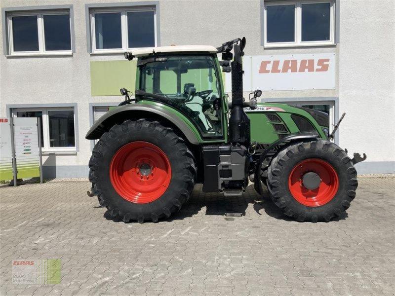 Traktor des Typs Fendt 716 VARIO SCR, Gebrauchtmaschine in Aurach (Bild 1)