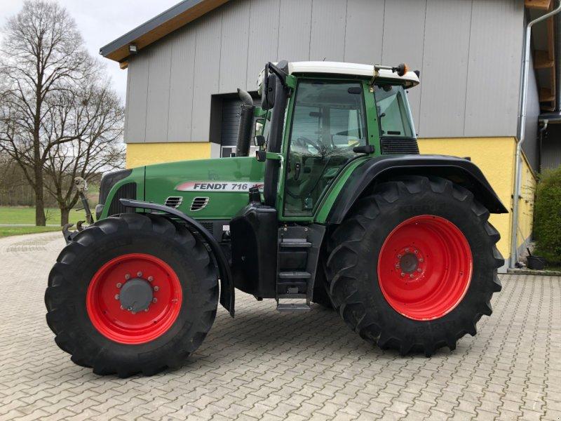 Traktor tip Fendt 716 Vario TMS sehr schöner Zustand, Gebrauchtmaschine in Tirschenreuth (Poză 1)