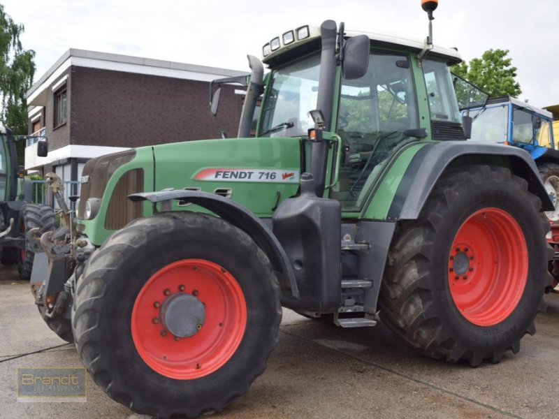 Traktor a típus Fendt 716 Vario TMS, Gebrauchtmaschine ekkor: Bremen (Kép 1)