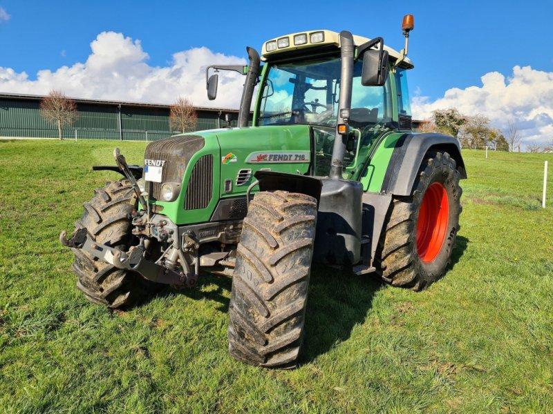 Traktor des Typs Fendt 716 Vario TMS, Gebrauchtmaschine in Gründau (Bild 1)