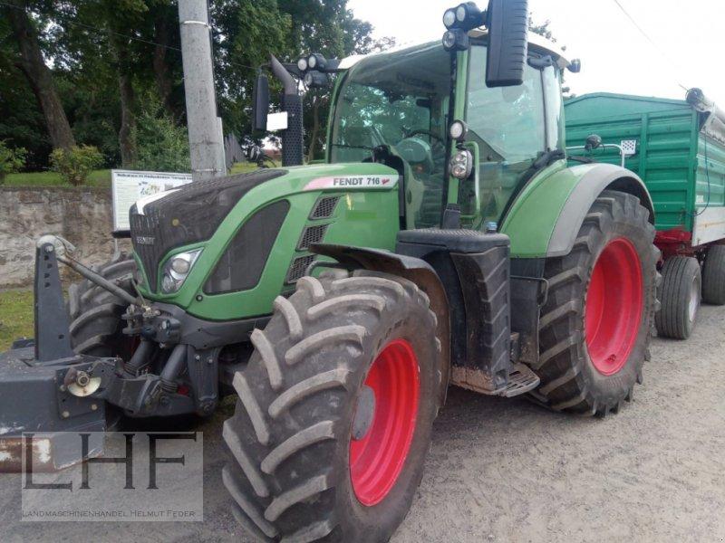 Traktor a típus Fendt 716 Vario, Gebrauchtmaschine ekkor: Burg/Spreewald (Kép 1)