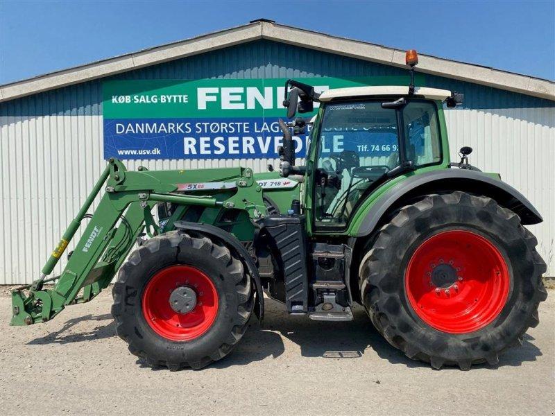 Traktor des Typs Fendt 718 S4 Profi Plus med Fendt Cargo 5x85 Frontlæsser, Gebrauchtmaschine in Rødekro (Bild 1)