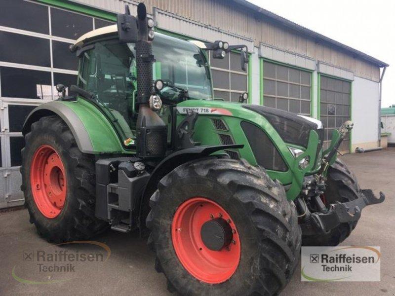 Traktor des Typs Fendt 718 SCR, Gebrauchtmaschine in Korbach (Bild 3)