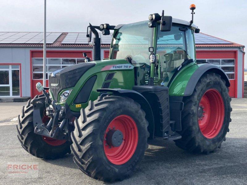 Traktor des Typs Fendt 718 VARIO PROFI TMS, Gebrauchtmaschine in Bockel - Gyhum (Bild 1)