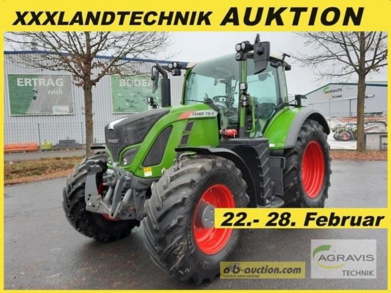 Traktor des Typs Fendt 718 VARIO S4 POWER PLUS, Neumaschine in Meppen (Bild 1)