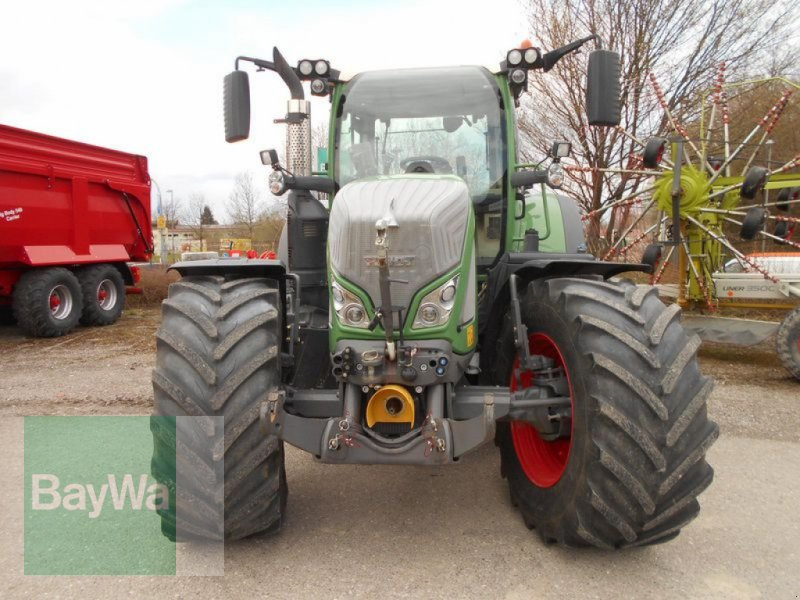 Traktor του τύπου Fendt 718 VARIO S4 PROFI PLUS, Gebrauchtmaschine σε Mindelheim (Φωτογραφία 4)