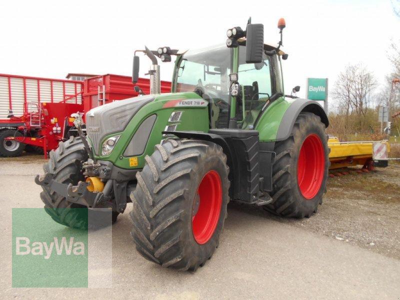 Traktor des Typs Fendt 718 VARIO S4 PROFI PLUS, Gebrauchtmaschine in Mindelheim (Bild 1)